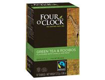 Four O´clock Grönt te Four O´Clock Eko Rooibos och grönt 16st/fp
